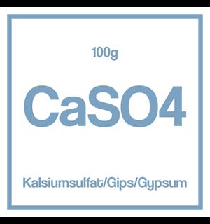 Kalsiumsulfat / Gips/ Gypsum (CaSO4) 100g