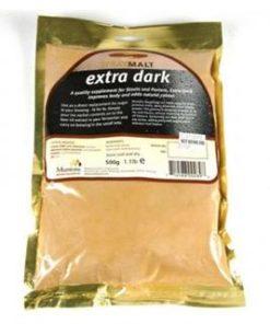 Spraymalt, ekstra mørk, 0,5kg