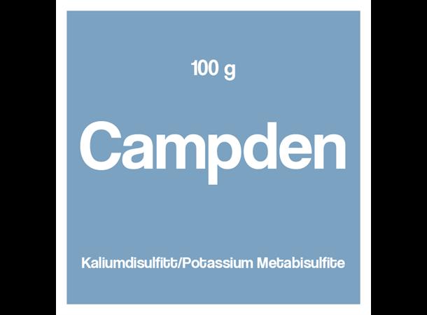 Vinoferm Campden 100g kaliumsulfitt - gjærstopp