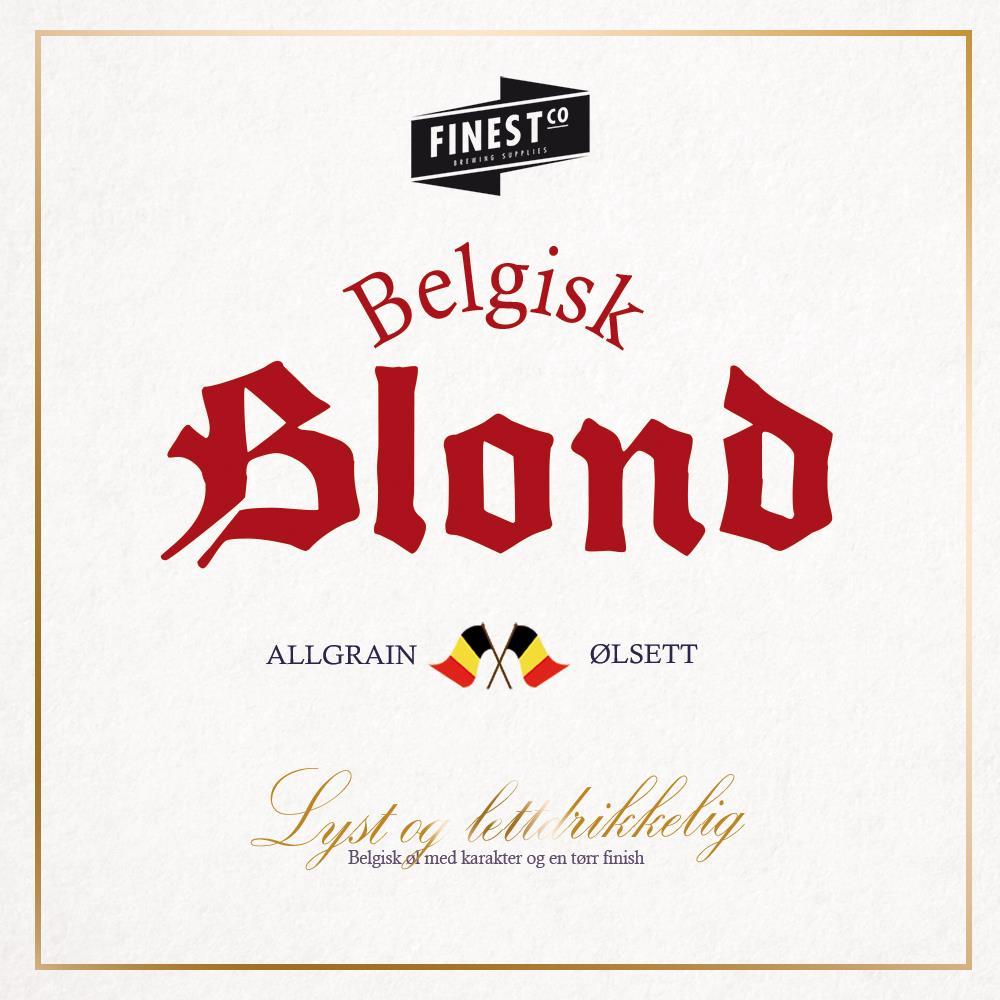 Belgisk Blond