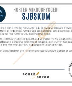 Ølsett 25l HMB Sjøskum