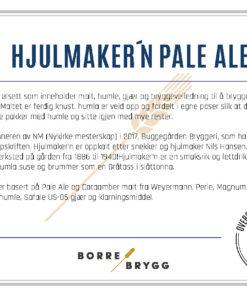 Ølsett 25l Hjulmaker'n pale ale