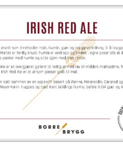 Ølsett 25l Irish Red Ale