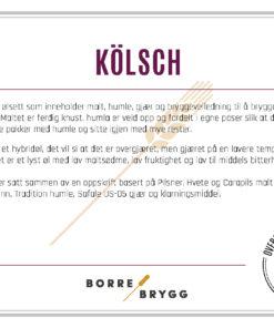 Ølsett 25l Kölsch