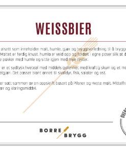 Ølsett 25l Weissbier
