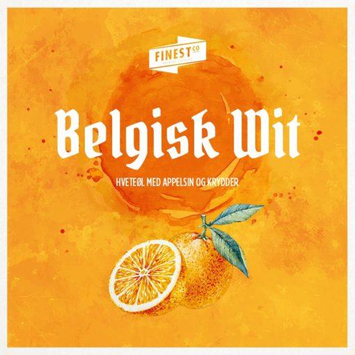 Finest Belgisk Wit (ølsett)