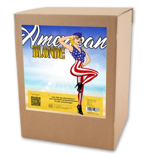 American Blonde allgrain ølsett