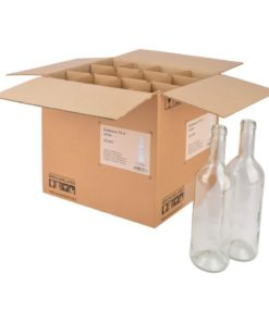 Vinflasker 75cl klar eske 12 stk