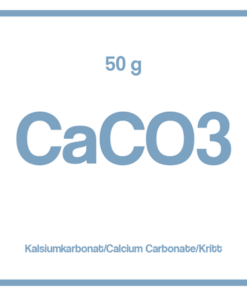 Kalsiumkarbonat CaCO3 (kritt) 50g boks