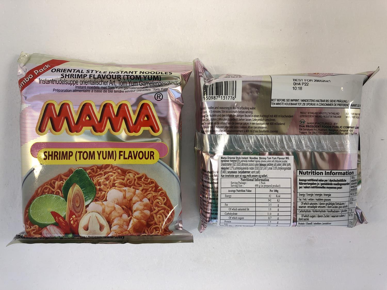 'MAMA Instant Noodles Tom Yum 90gr