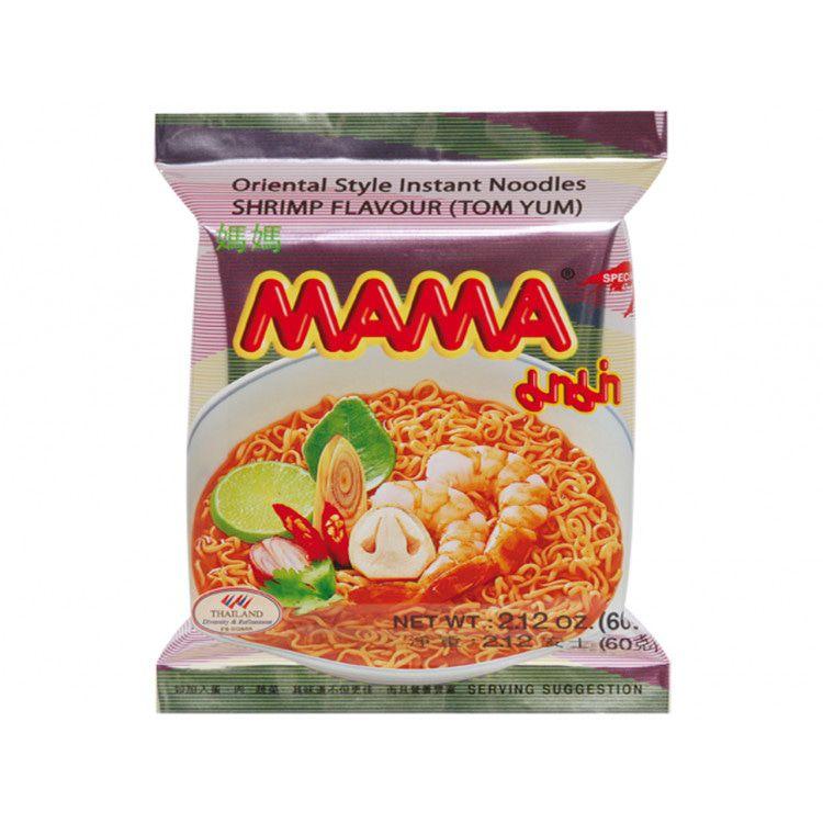 MAMA Inst Noodle Tom Yum 60gr ø