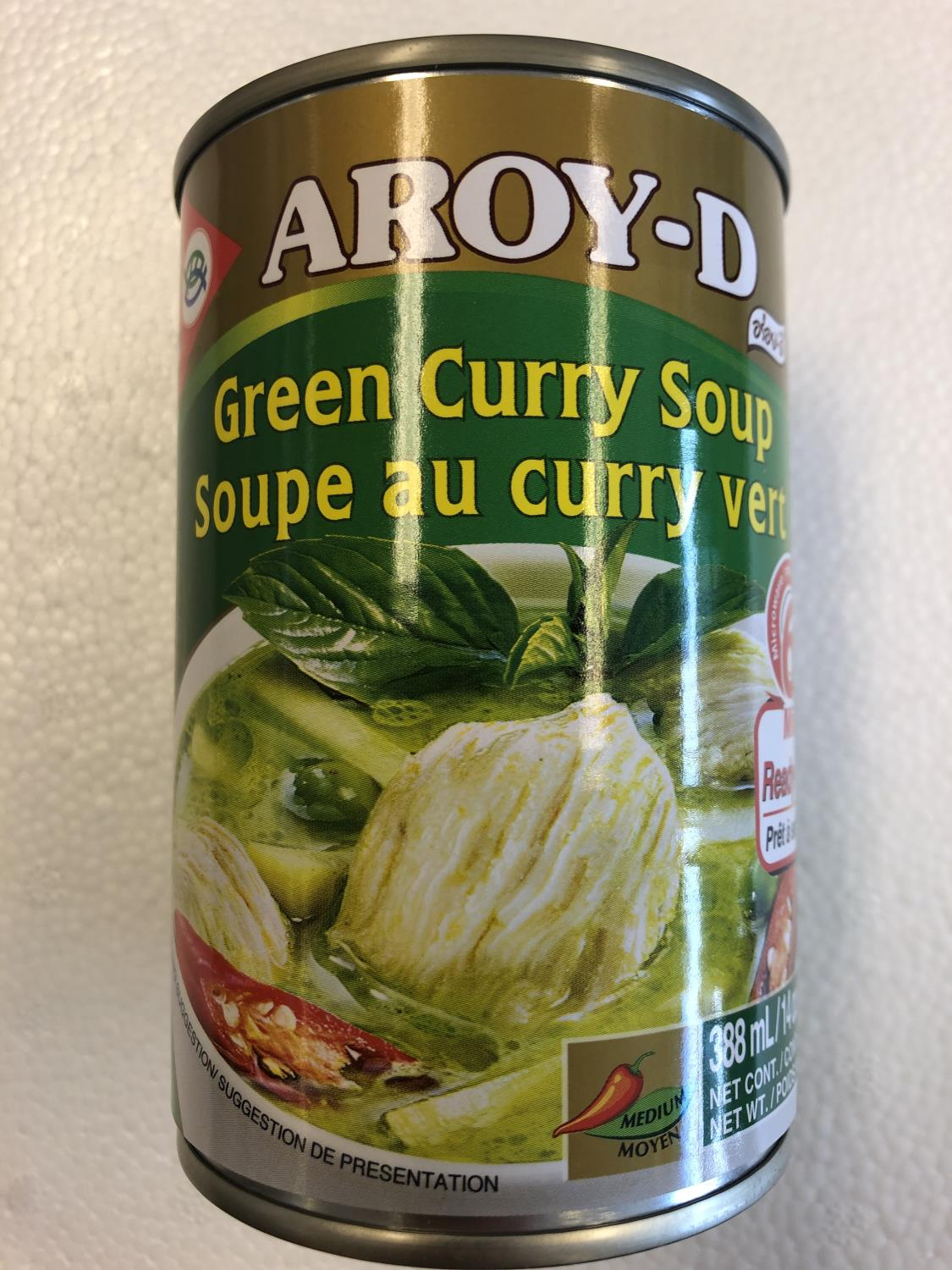 'AROY-D Green Curry Soup 400gr