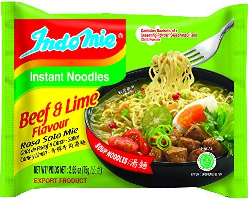 'INDOMIE Instant Noodle Beef & Lime 70gr