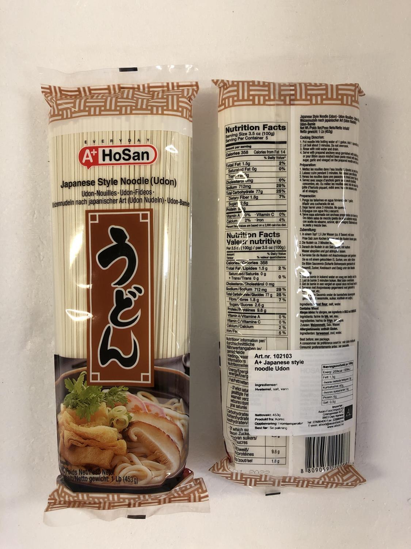 A+ HOSAN Japanese Style Udon 453gr å