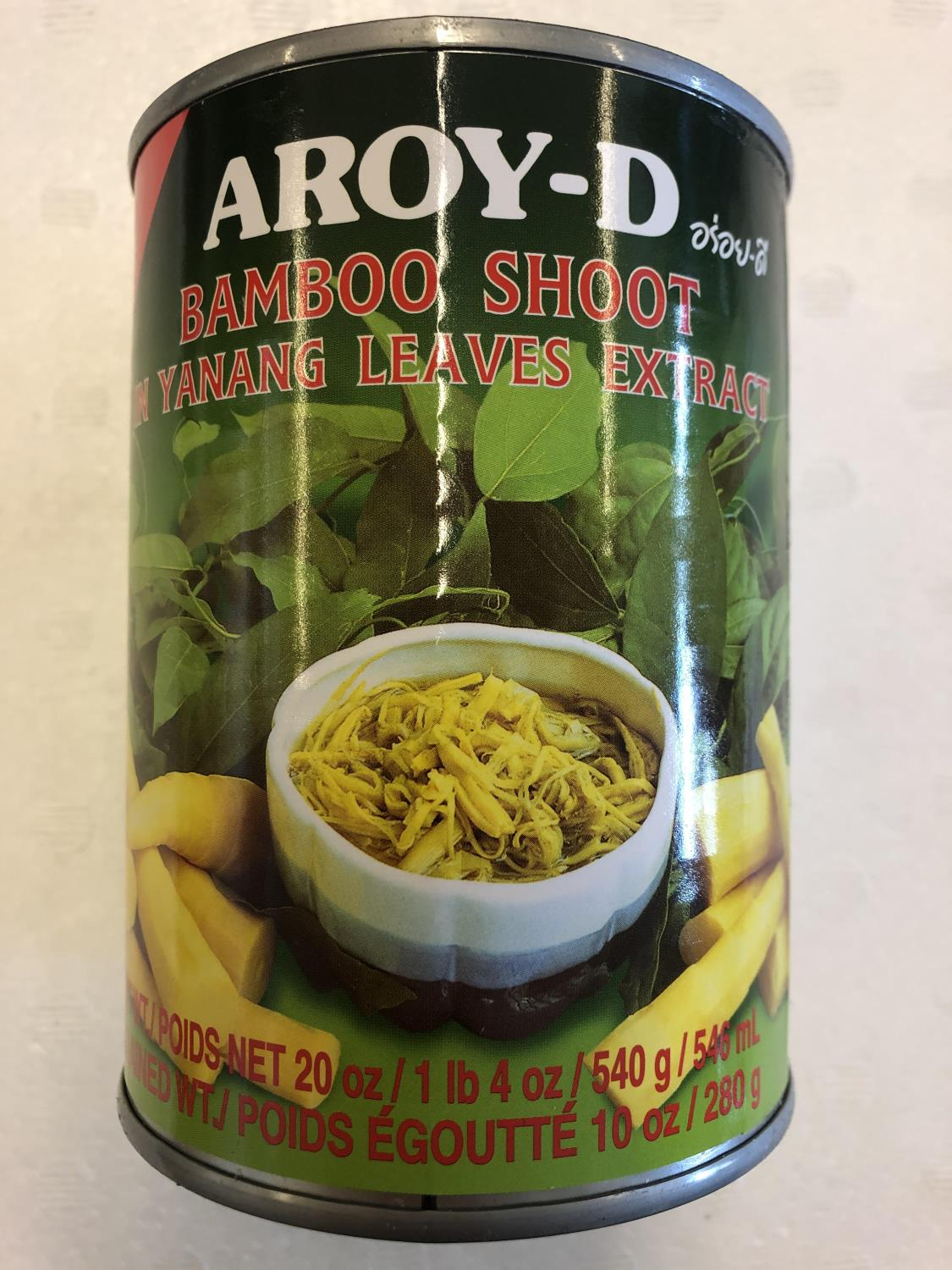 'AROY-D Bamboo Shoot in Yanang Leaves Extract 540gr