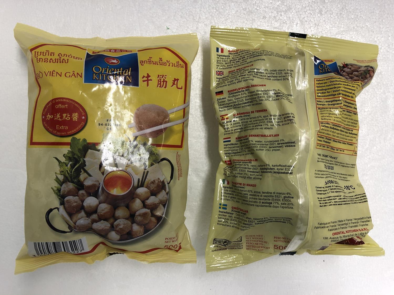ORIENTAL KITCHEN Beef Meatballs 500g