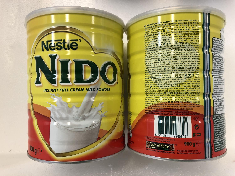 'NESTLE Nido Cream Milk Powder 900gr å