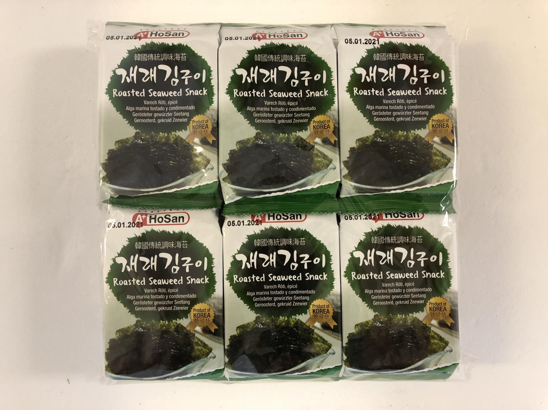 'A+ HOSAN Roasted Seaweed Snack 12*4gr