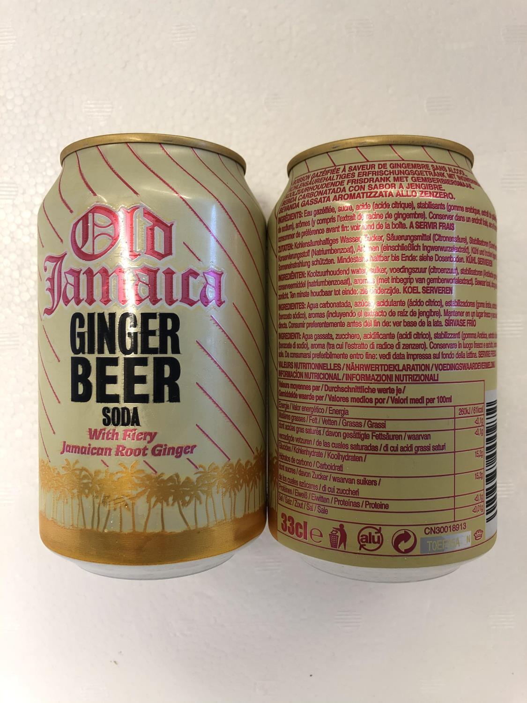 "'OLD JAMAICA Ginger Beer 330ml """