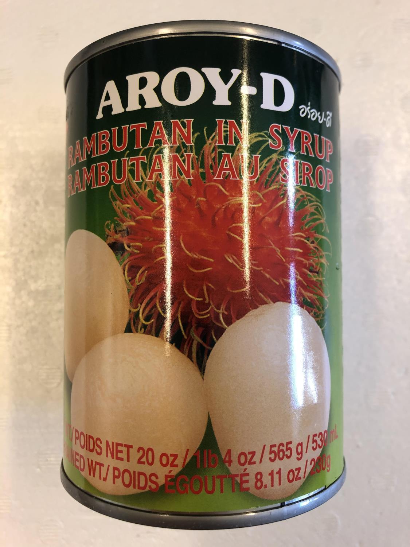 'AROY-D Rambutan in Syrup 565gr