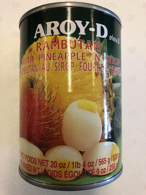 'AROY-D Rambutan & Pineapple 565gr