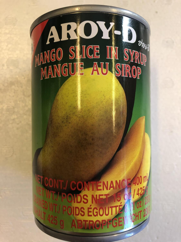 'AROY-D Mango Slice in Syrup 425gr