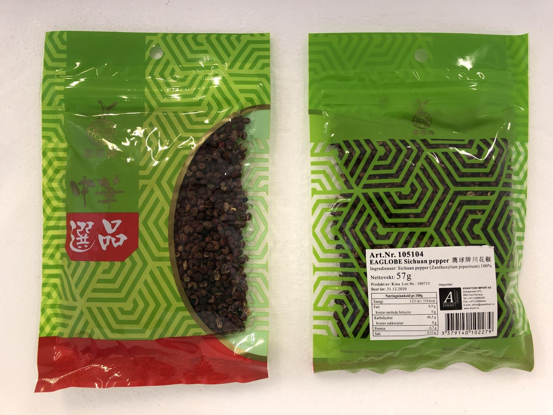 'EAGLOBE Sichuan Pepper 57gr å