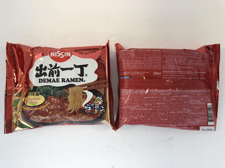 'NISSIN Demae Ramen Spicy 100g