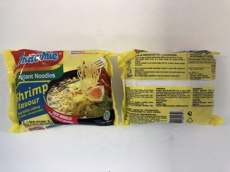 'INDOMIE Instant Noodle Shrimp 70g