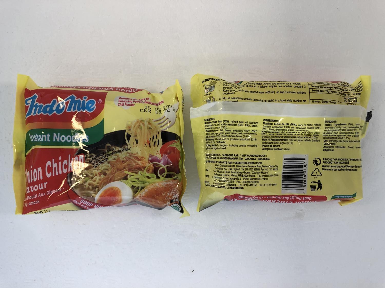 'INDOMIE Instant Noodle Onion Chicken 75g