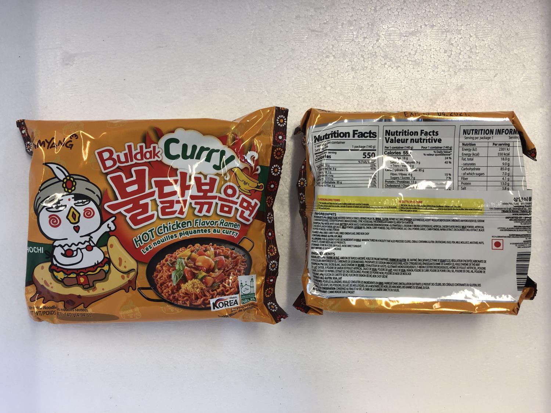 SAMYANG Hot Chicken Ramen Curry 140gr å