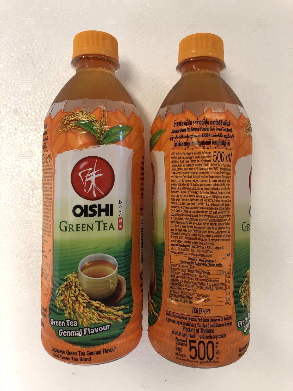 'OISHI Green Tea Genmai 500ml å