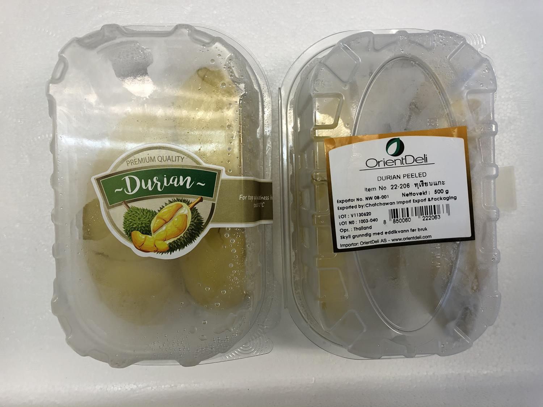'OD Durian Peeled PR KG å