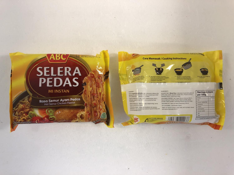 'ABC Selera Pedas Hot Semur Chicken 70gr
