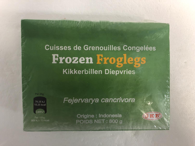 SKB Frozen Froglegs 6/8 800g