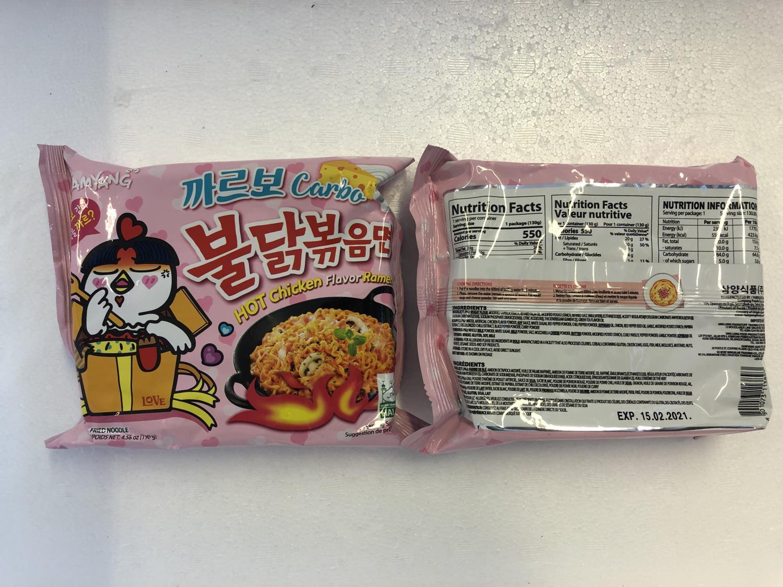 'SAMYANG Hot Chicken Ramen Carbonara 130gr å