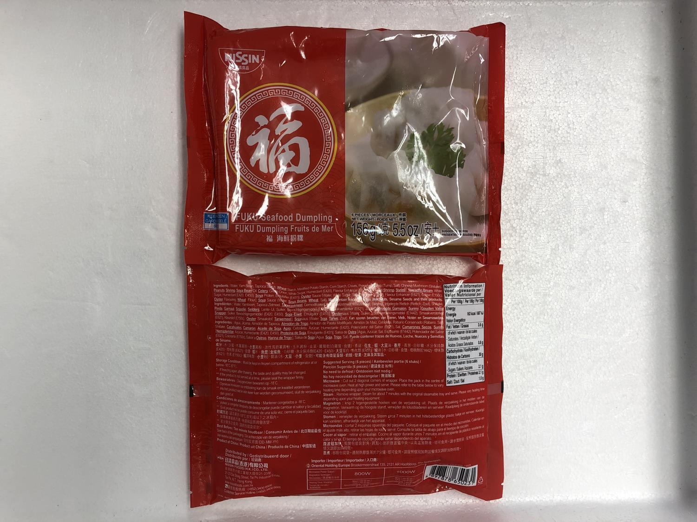 NISSIN Fuku Seafood Dumpling 156g