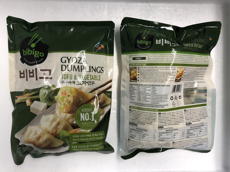 BIBIGO Gyoza Dumpling Tofu & Vegetable 600g