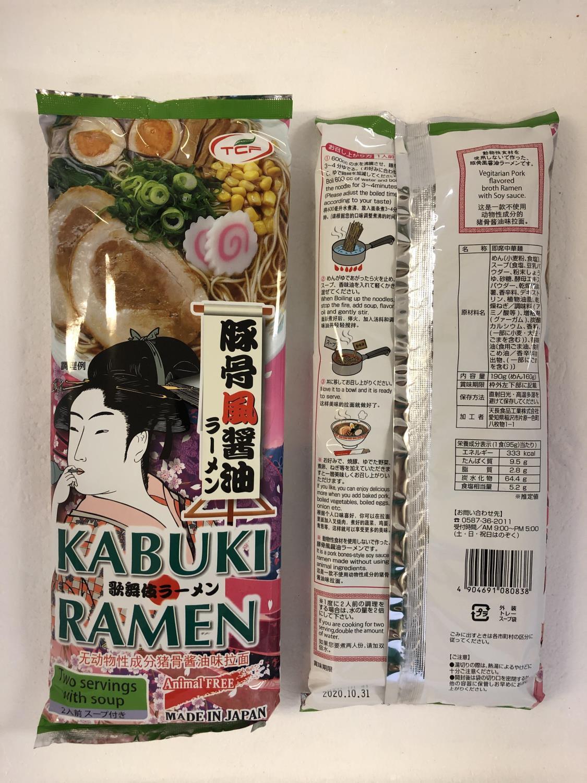 TCF Kabuki Ramen Noodle Soy Sauce 190g