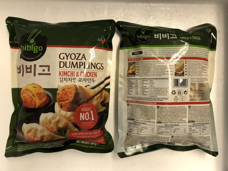 'BIBIGO Gyoza Dumpling Kimchi & Chicken 600gr