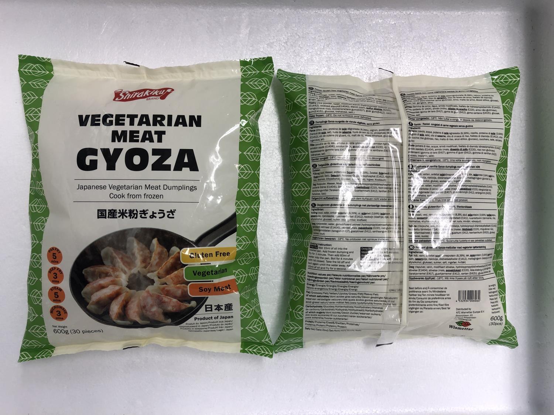 SHIRAKIKU Vegetarian Meat Gyoza 600gr å