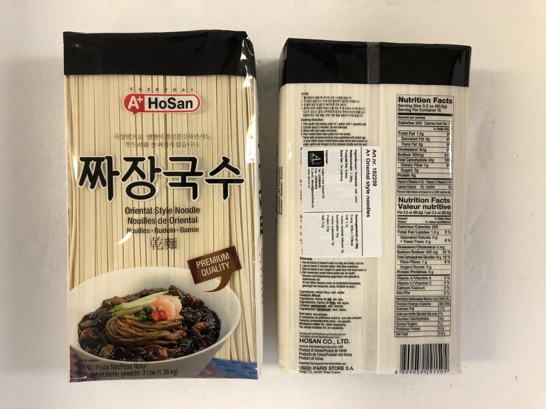 A+ HOSAN Oriental Style Noodles 1,36kg å