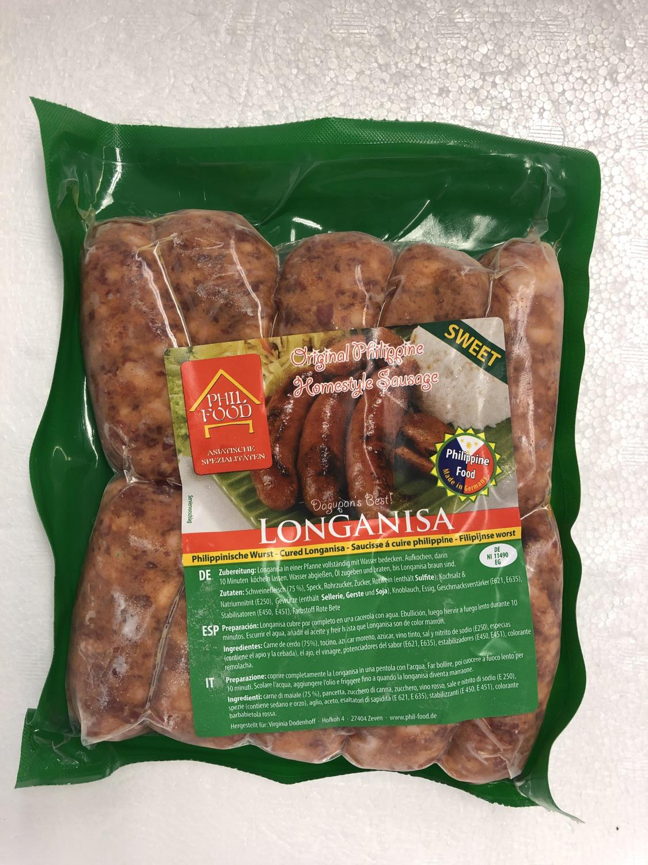 PHIL FOOD Longanisa Sweet Sausage 500gr ø