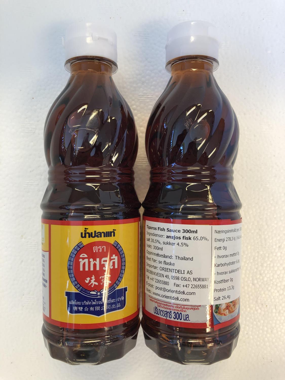 TIPAROS Fish Sauce 300ml ø