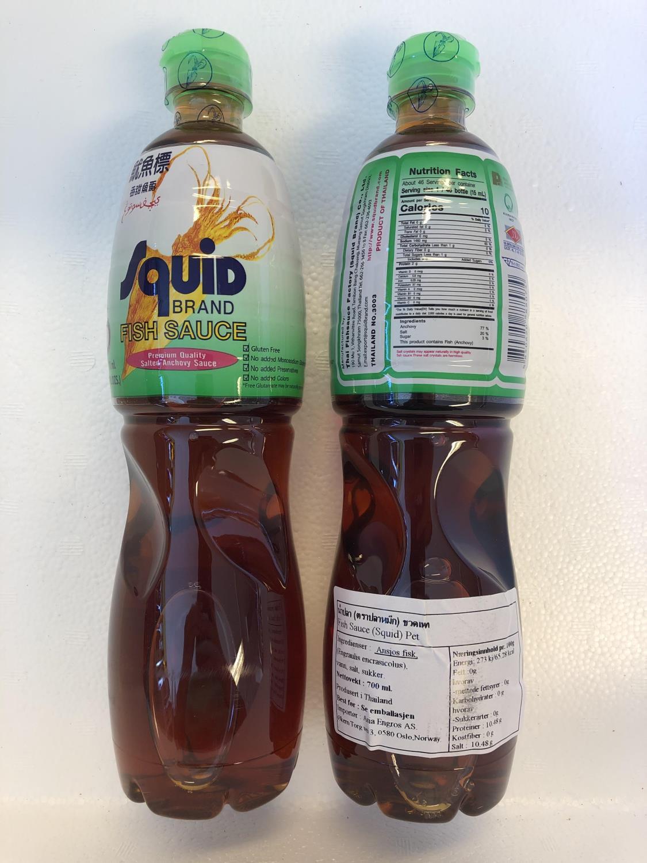 SQUID Fish Sauce 700ml ø