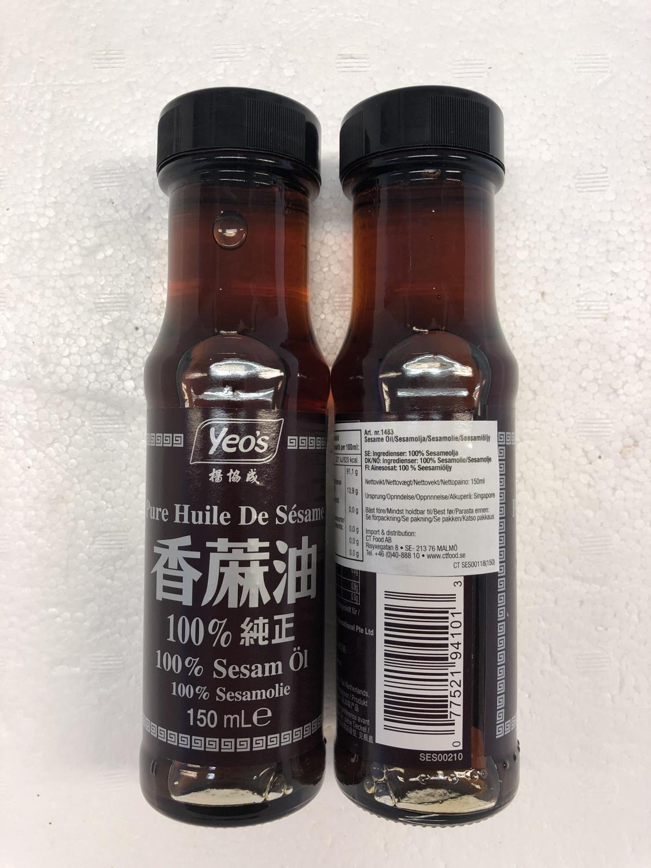 'YEO'S Sesame Oil 100% Pure 150ml