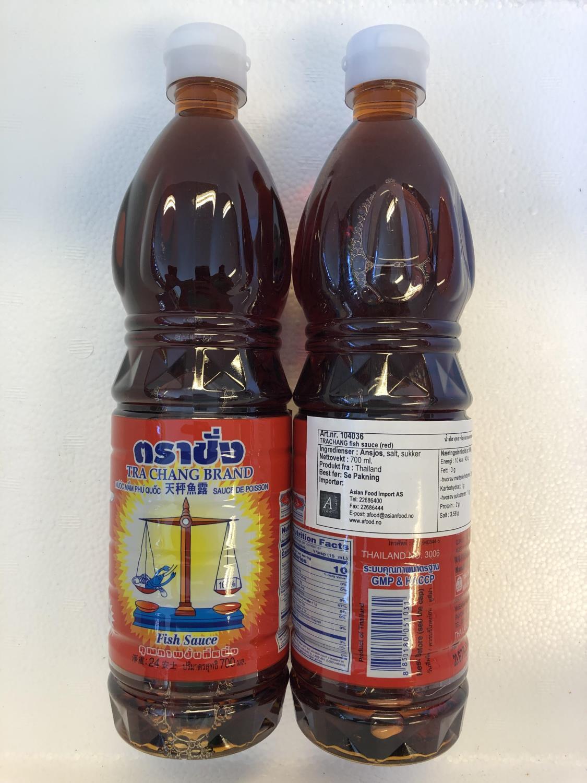 TRACHANG Fish Sauce Red 700ml ø