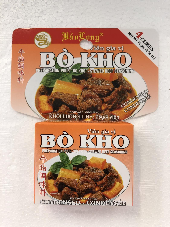 'BAO LONG Bo Kho Stewed Beef Seasoning 75gr