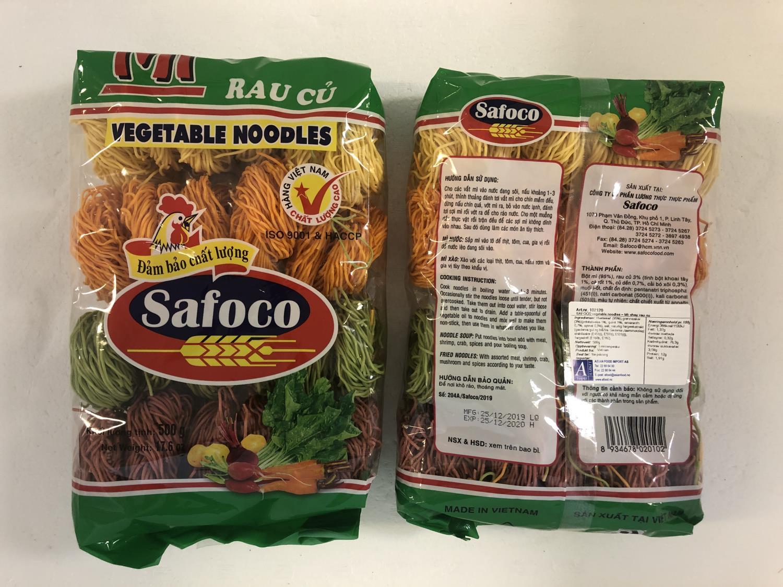 SAFOCO Vegetable Noodles 500gr ø