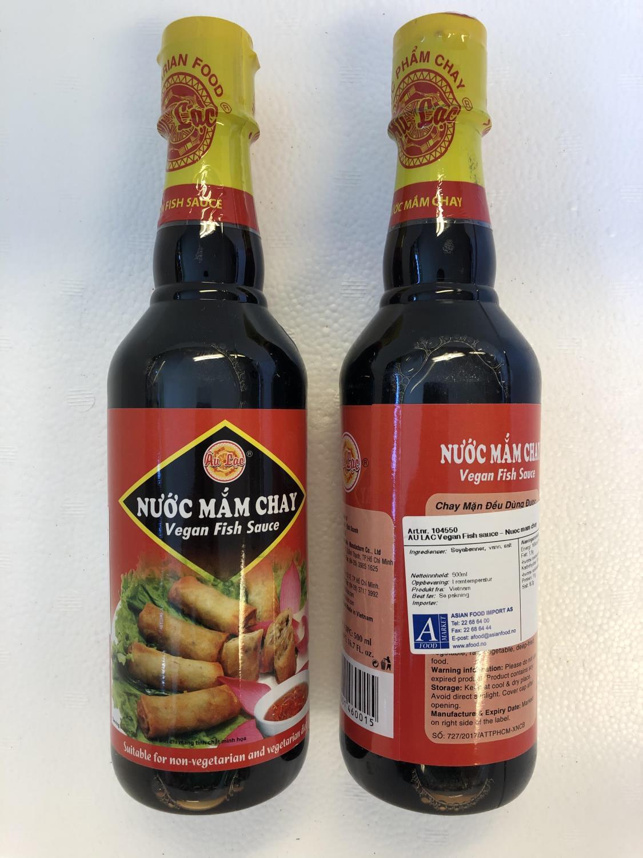 AU LAC Vegan Fish Sauce 500ml